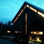トラットリア・アグレステ - 夕暮れの店舗外観