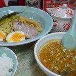 山岡家 - つけ麺