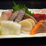 寿司政 - 刺身盛合せ