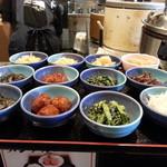 万吉食堂 - 選べる小鉢