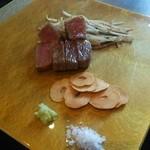 TEPPAN DINING 集 - 神戸牛サーロインステーキ80g