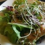 TEPPAN DINING 集 - 水耕野菜のサラダ