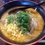 だるまのめ  - だるまのめ 西葛西店 味噌らぁ麺(普)770円(税込)