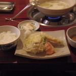 44708309 - 天ぷらとご飯