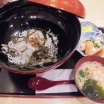 千姫茶屋 - シラス丼1490円(税込)