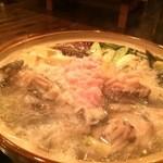 44709942 - 鍋に白子が入りまーす【料理】