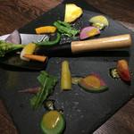 44710317 - かた茹でがいい‼︎野菜が美味しい。