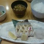竹の子 - 料理写真:焼魚定食1500円