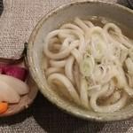 Miyazenishii - 鍋の〆のうどん