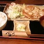 まるいち亭 - チキンクリームソース880円(ご飯大盛)