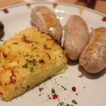 ピッツェリア スペリアーモ! - ウインナーとポテトのフリーコ