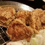 とり多津 - 唐揚げ定食(大盛)塩味