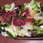 味彩 - 馬肉のたたきサラダ仕立て
