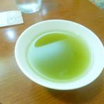 茶呑み処 いわぶち - お茶