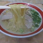新生軒 - 橋本製麺所の中細ストレート麺