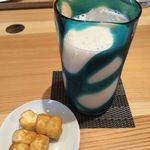 FUMUROYACAFE TOYAMAキラリ店 -  豆乳麹ドリンク 生姜(アイス)とおやつ麩
