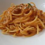 44718324 - 【ランチC】Pasta 生うにクリームソース(+\200)