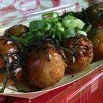 神戸蛸焼 - のりしょうゆ♪ネギトッピング