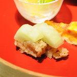 茅乃舎 - 白瓜寿司