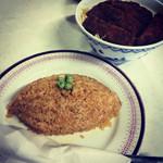 クロネコ - チキンライスとソースカツ丼