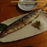 44723027 - 秋刀魚の塩焼き