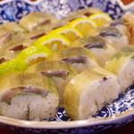 料理ふじ味 - 鯖の棒寿司