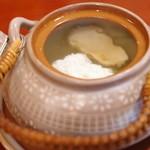 44724614 - 松茸と鱧の土瓶蒸し
