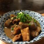 お好み焼き 華 - 料理写真:どて焼き(美味し〜♡)