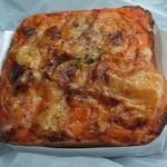 パンテテ - 料理写真:とまとクリームクロックムッシュ180円