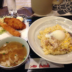 Qさんの上海厨房 - 日替わり定食690円♪