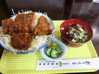 若松食堂 - ソースかつ丼 880円 (^^b