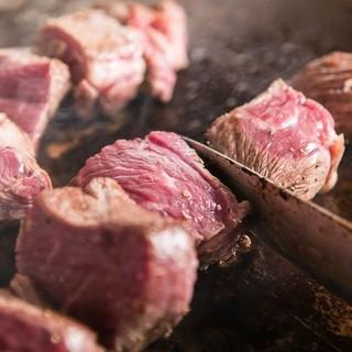 肉の旨さを最大限に生かす特別な調理法