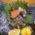 食彩小路 en - 料理写真:サザエ刺身