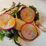 レストラン・カワサキ - オードブル:富士宮芝川の畑のサラダ(ランチ)