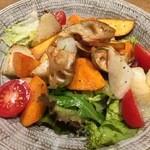 333 - 根菜サラダ(味噌バルサミコソース)