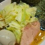 そらの星 - キャベツラーメン+味玉♪