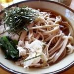四季の家 - 料理写真:山芋そば(1000円)