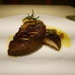 アルポルトカフェ - 群馬産苗床椎茸のソテー ローズマリー添え