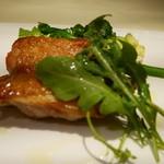 アルポルトカフェ - 地鶏の香草焼き