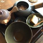 さの製茶 - 料理写真:玄米茶(300円)