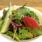 ヨシダゴハン - サラダもたっぷり!ドレッシング美味しい