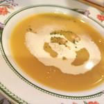 44734344 - 本日のスープはコーンポタージュ