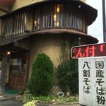蕎麦居酒屋 重市 - 国産、八割…に惹かれ入店♬