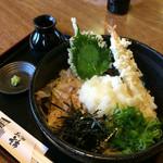 蕎麦居酒屋 重市 - おろし天ぷらそば  1000円