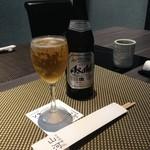 44737269 - H.27.6.23.昼 瓶ビール(スーパードライ) 750円税別