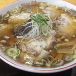 麺工房善 - 飛魚チャーシュー麺