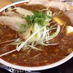 麺工房善 - 麻婆チャーシュー麺