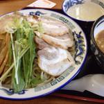 麺工房善 - ぜんつけチャーシュー麺