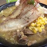麺工房善 - 味噌ネギチャーシュー麺