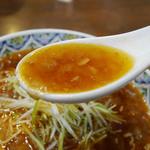 こだま - タンタンメンのスープ